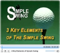 Key elements of simple swing